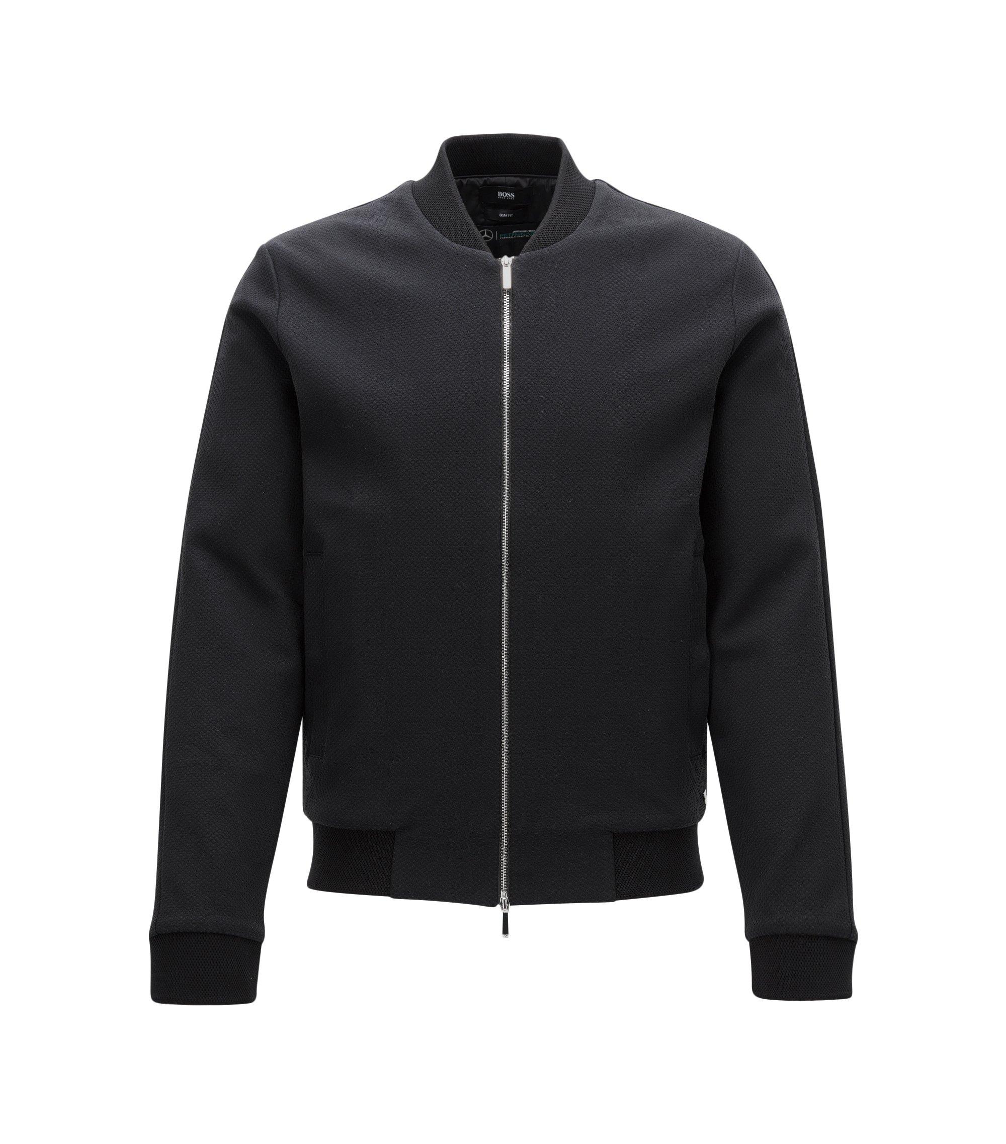 Mercedes-Benz Cotton Zip Jacket | Soule, Black