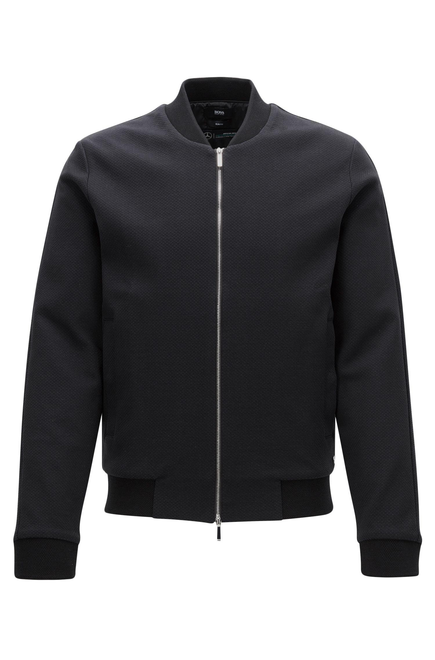 Mercedes-Benz Cotton Zip Jacket | Soule