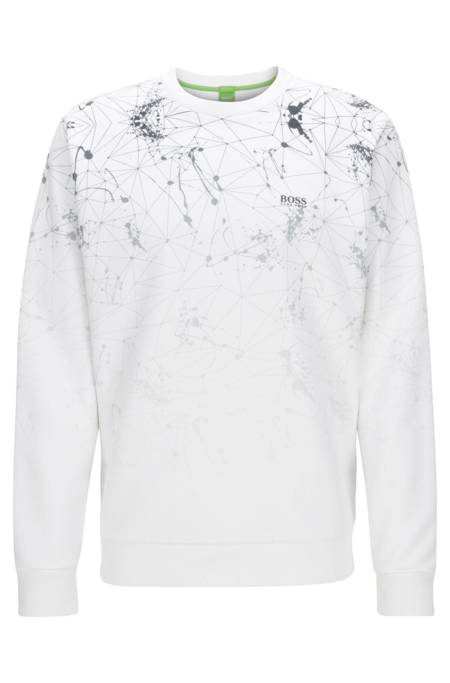 Stretch Cotton Sweatshirt | Swelock