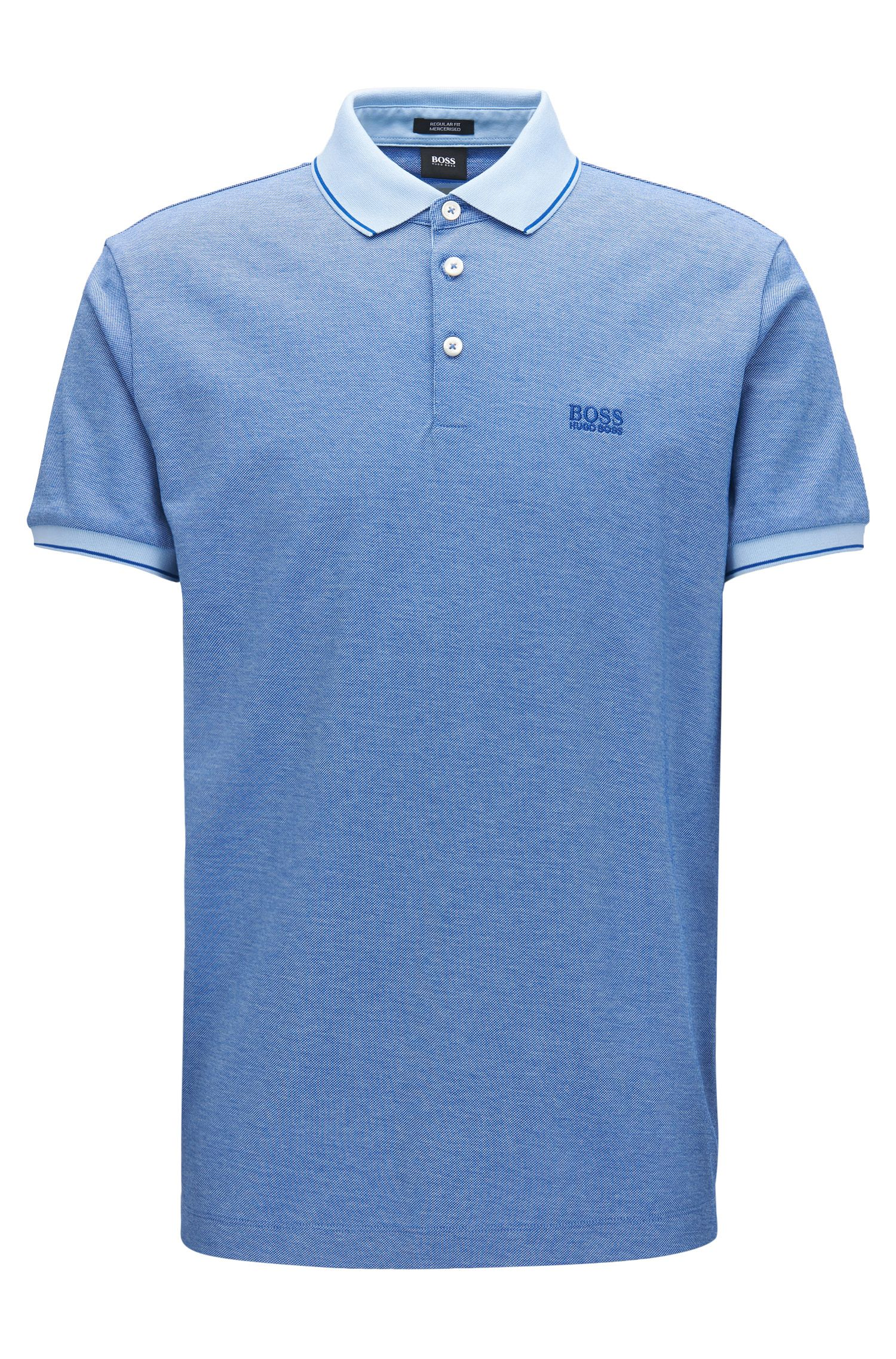 Tipped Cotton Polo Shirt, Regular Fit | Prout