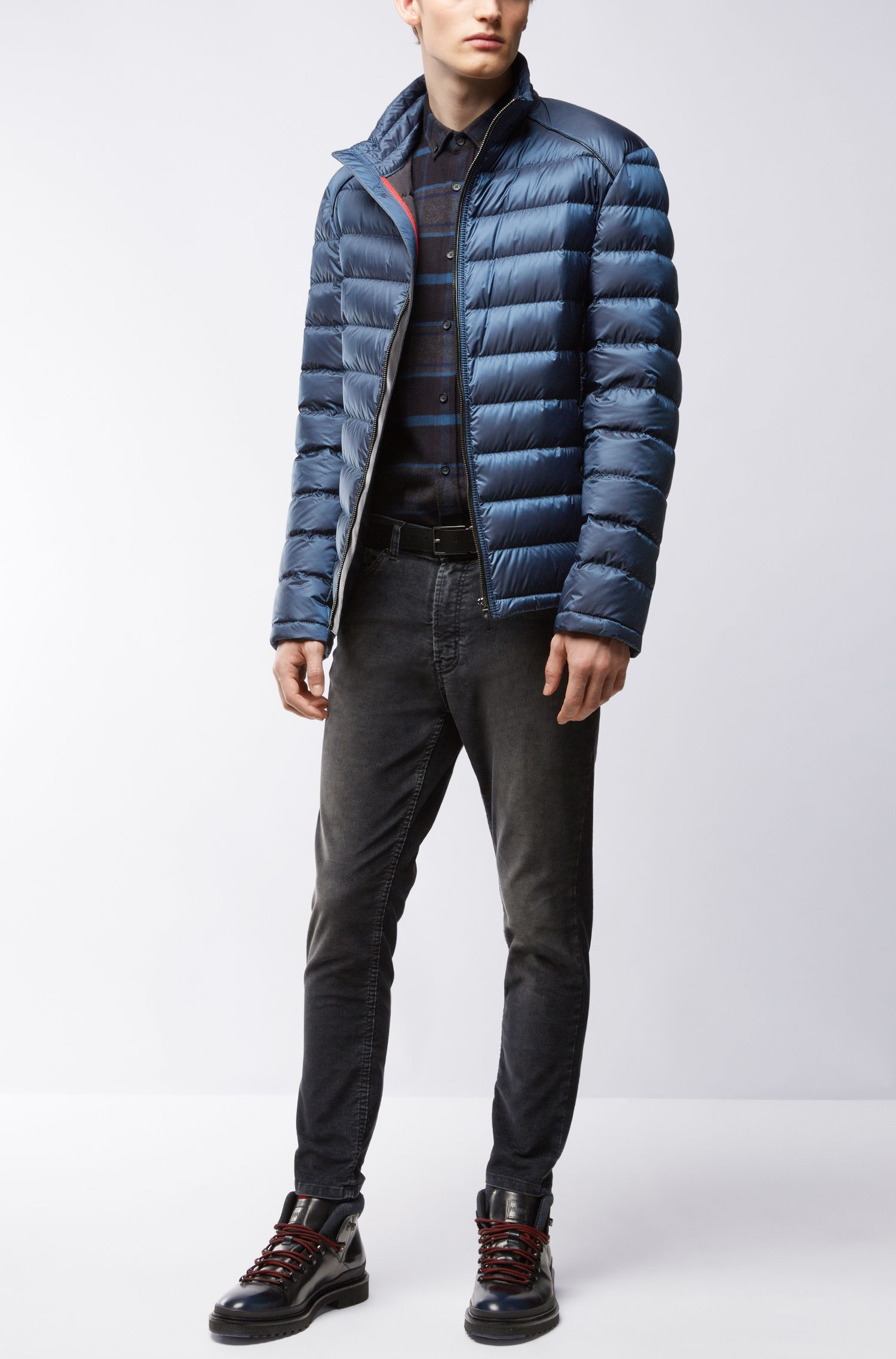 Quilted Nylon Puffer Jacket | Banic