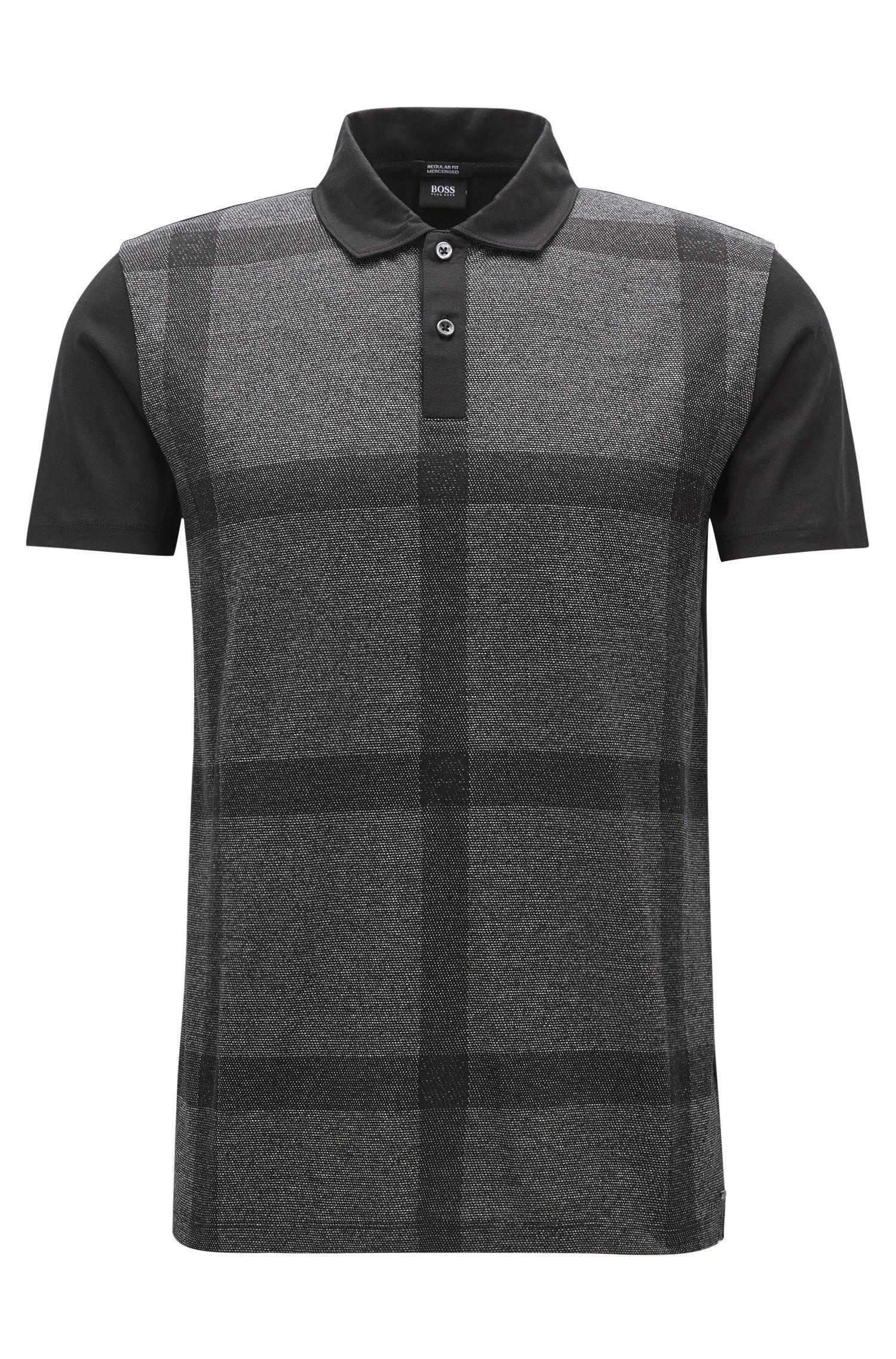 Mercerized Cotton Polo Shirt, Slim Fit | Paino