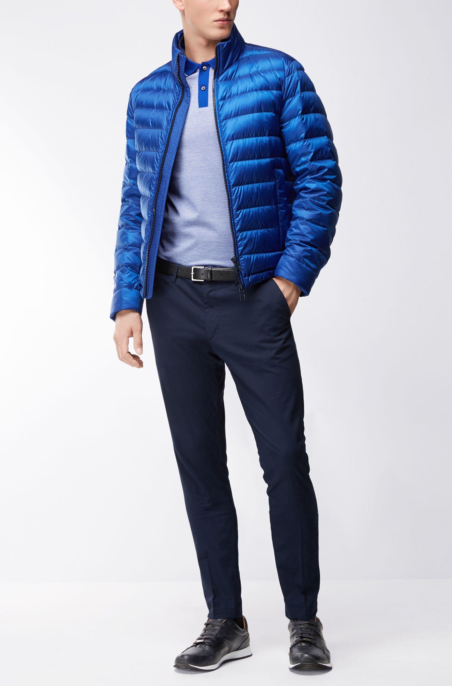 Mercerized Cotton Polo Shirt, Slim Fit | Phillipson