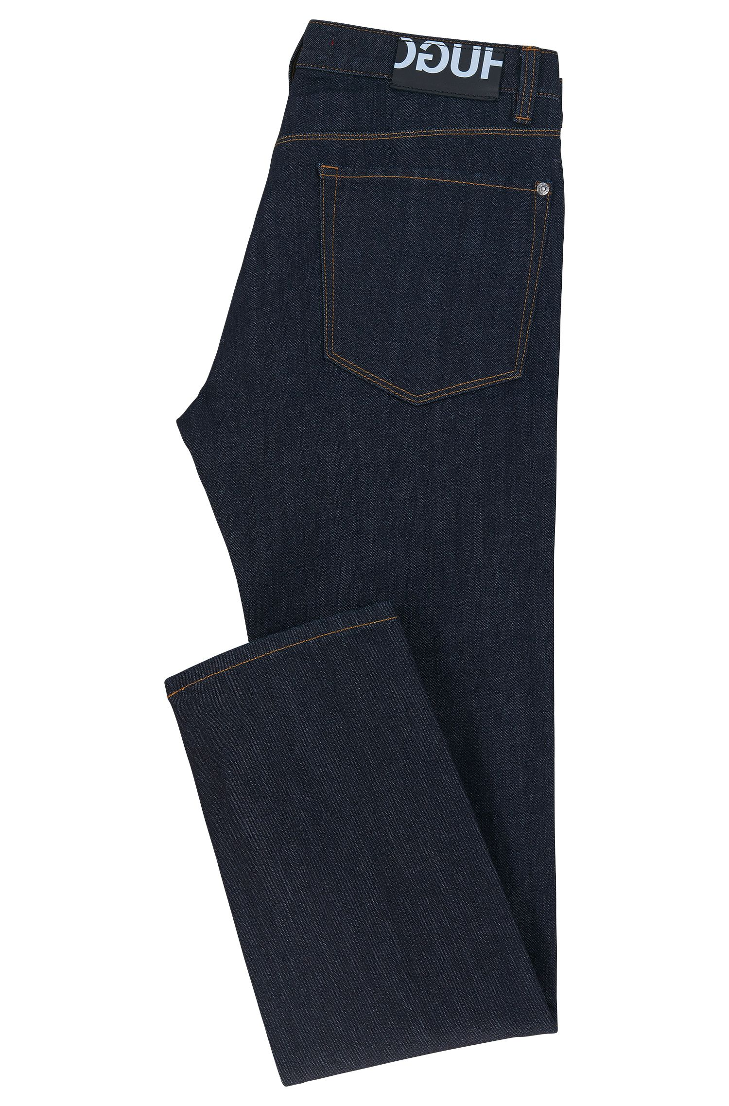 Stretch Cotton Jeans, Slim Fit | HUGO 708