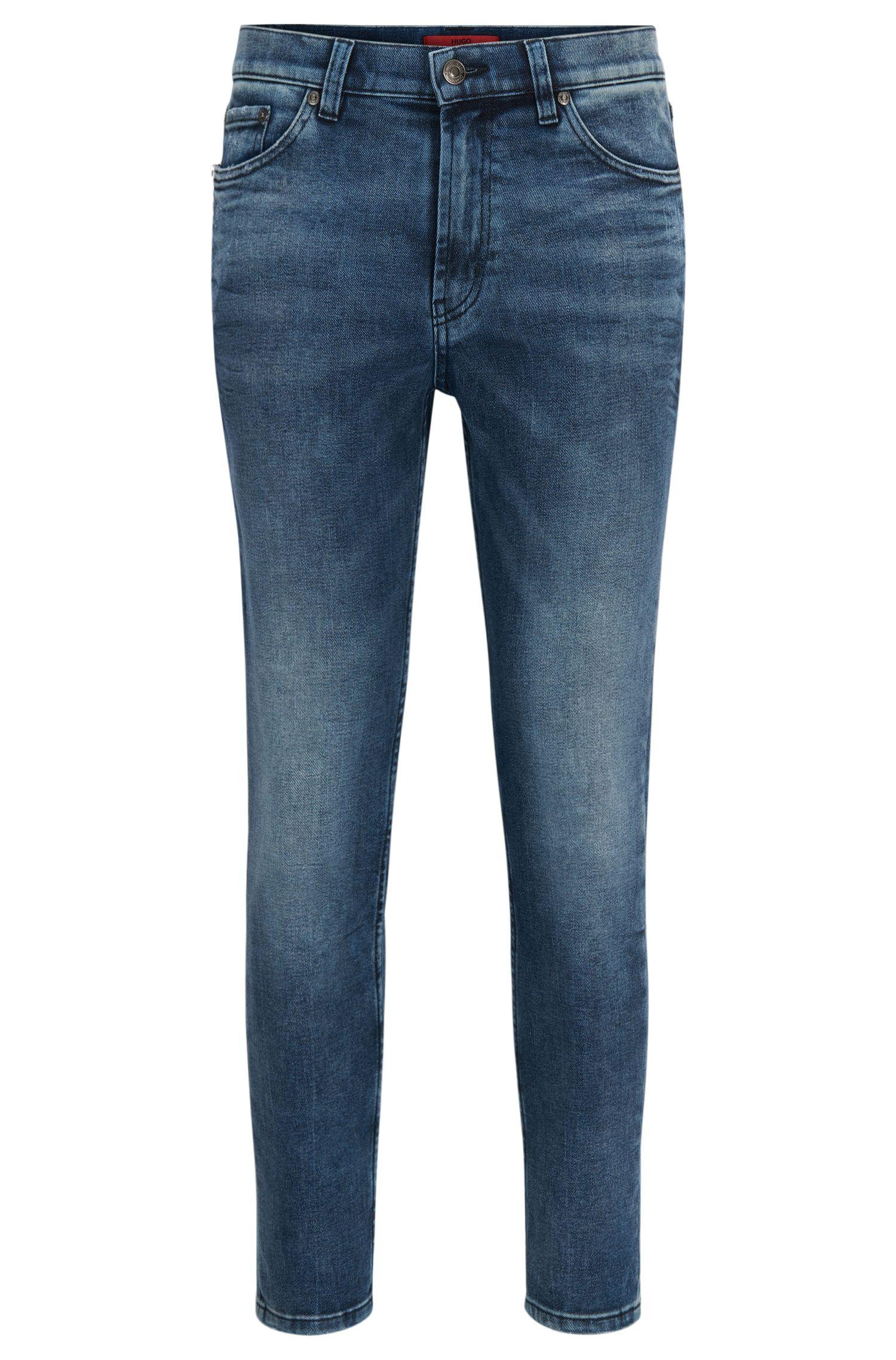 11.5 oz Stretch Cotton Jeans, Slim Fit | Hugo 332
