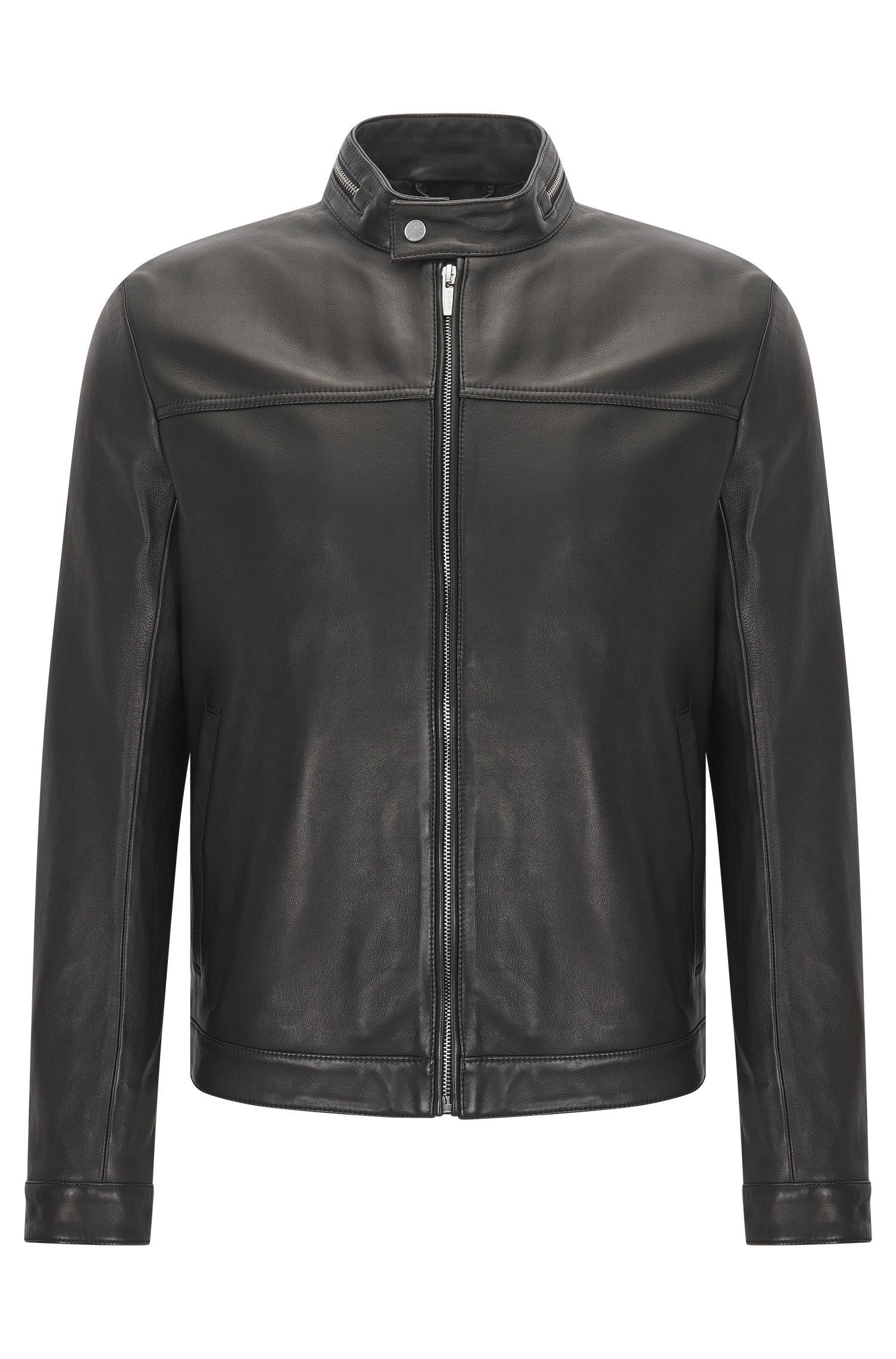 'Luckas' | Lamb Leather Jacket