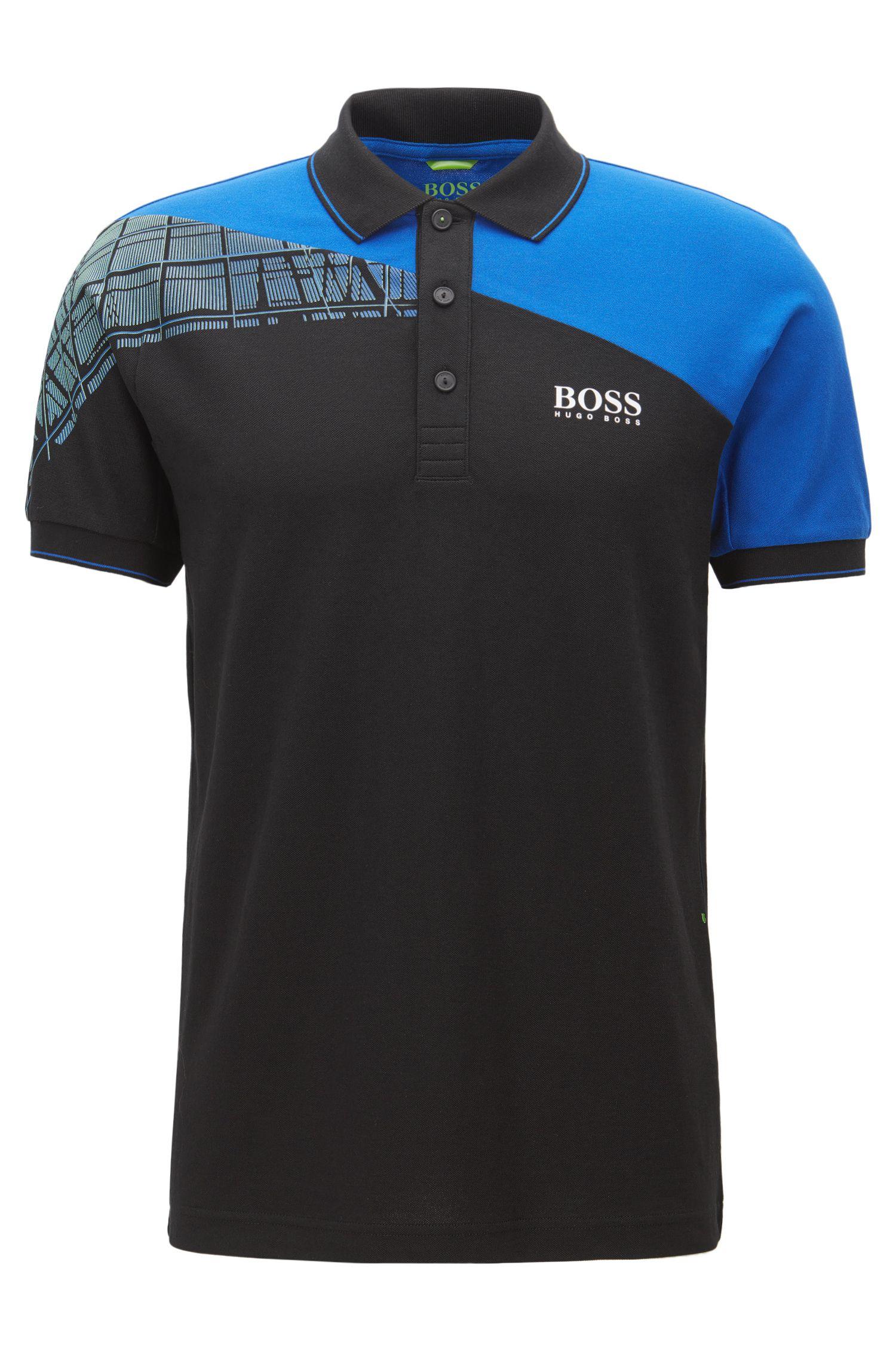 'Paddy Pro' | Regular Fit, Stretch Cotton Polo Shirt