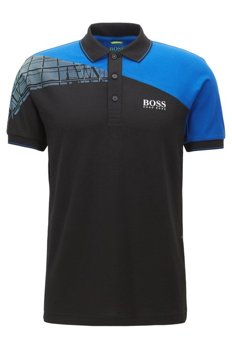 7edd52632 BOSS - Stretch Cotton Polo Shirt, Regular Fit | Paddy Pro