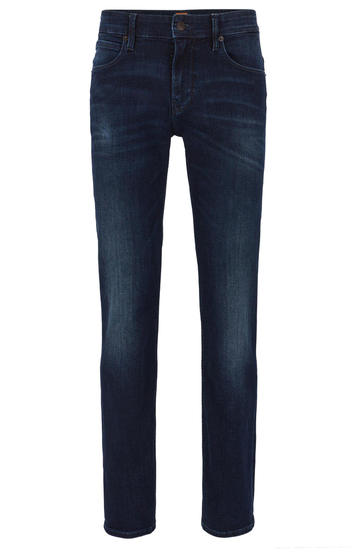 Stretch Cotton Jean, Slim Fit | Orange 63