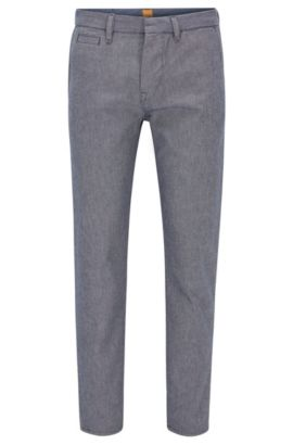 9.5 oz Cotton Wool Pant, Tapered Fit | Orange90 Winchester, Blue