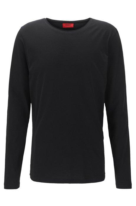 1f3a535e8 Cotton Jersey T-Shirt   Doopso, Black