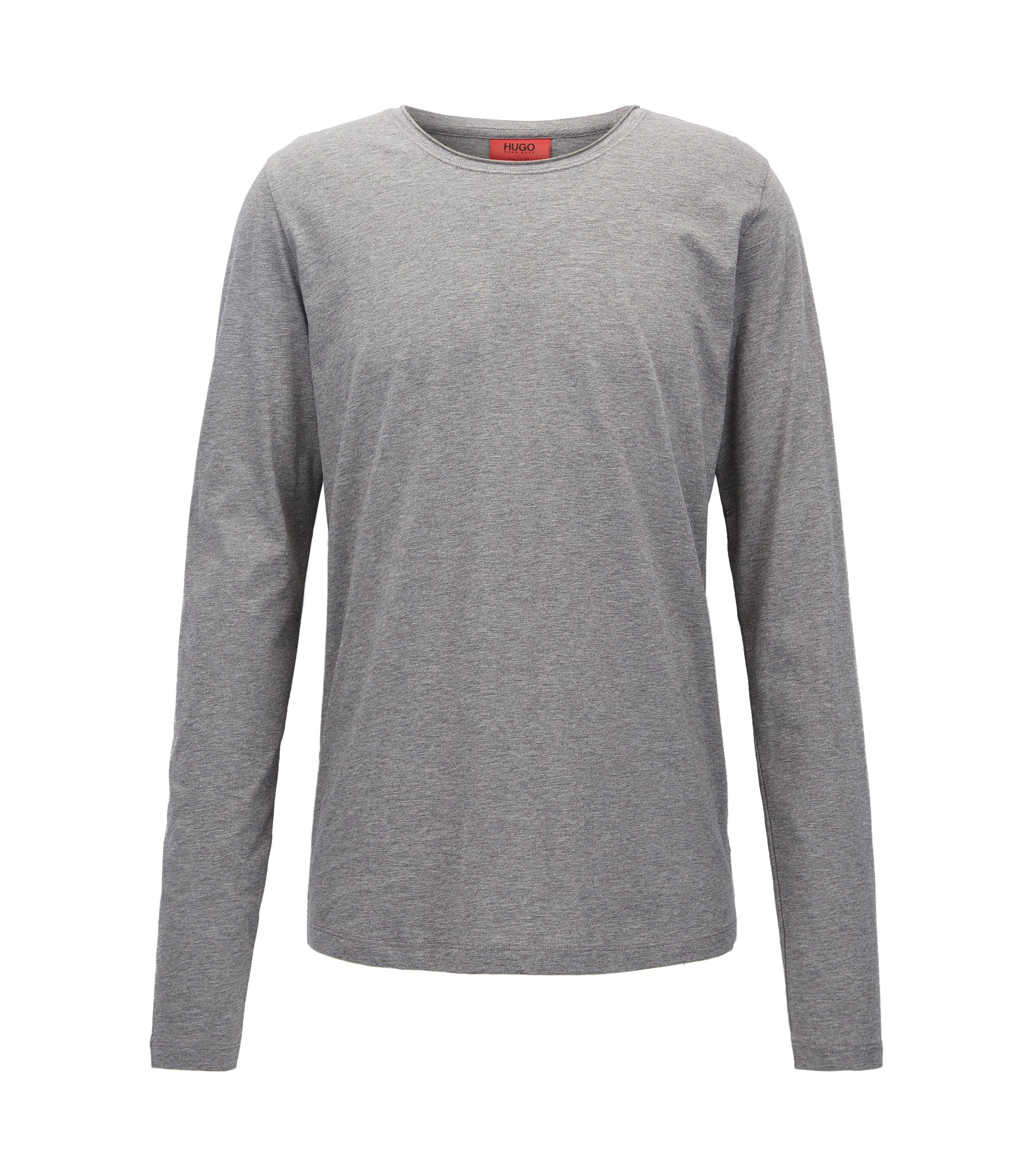 Cotton Jersey T-Shirt | Doopso, Open Grey