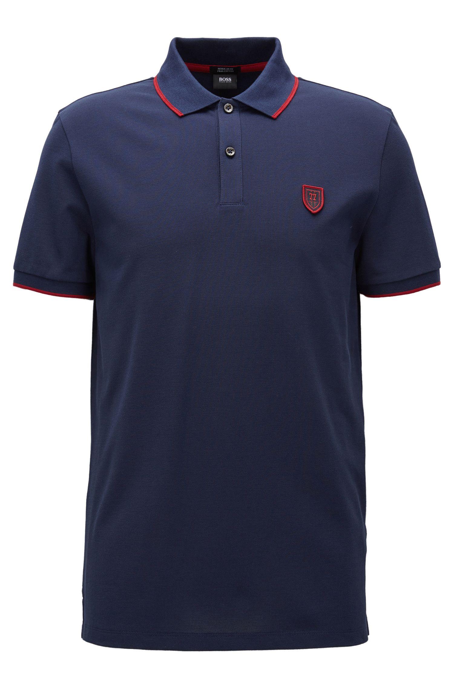 'Parlay' | Regular Fit, Piqué Cotton Polo