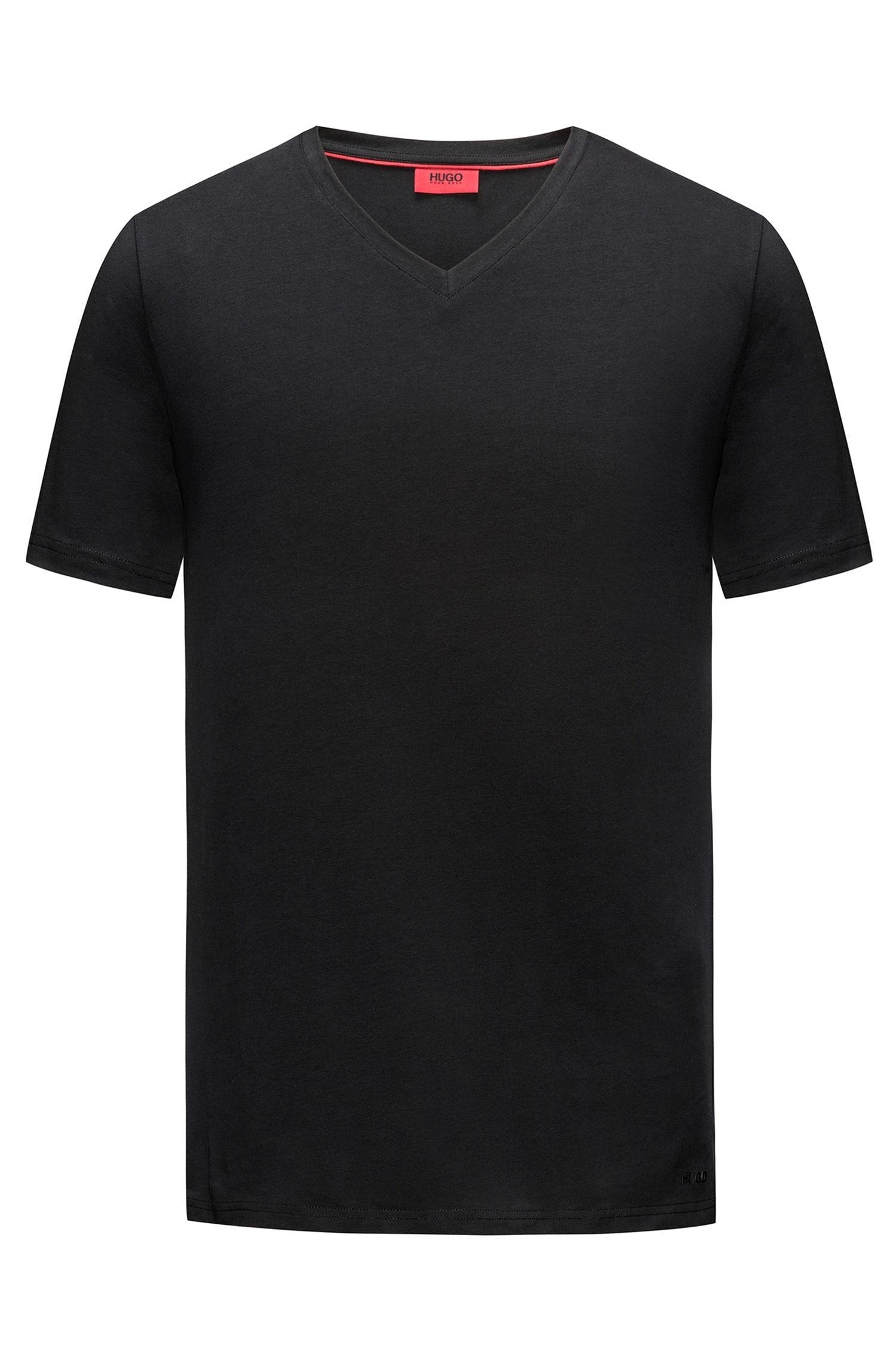 Stretch Cotton Jersey T-Shirt   Dandre