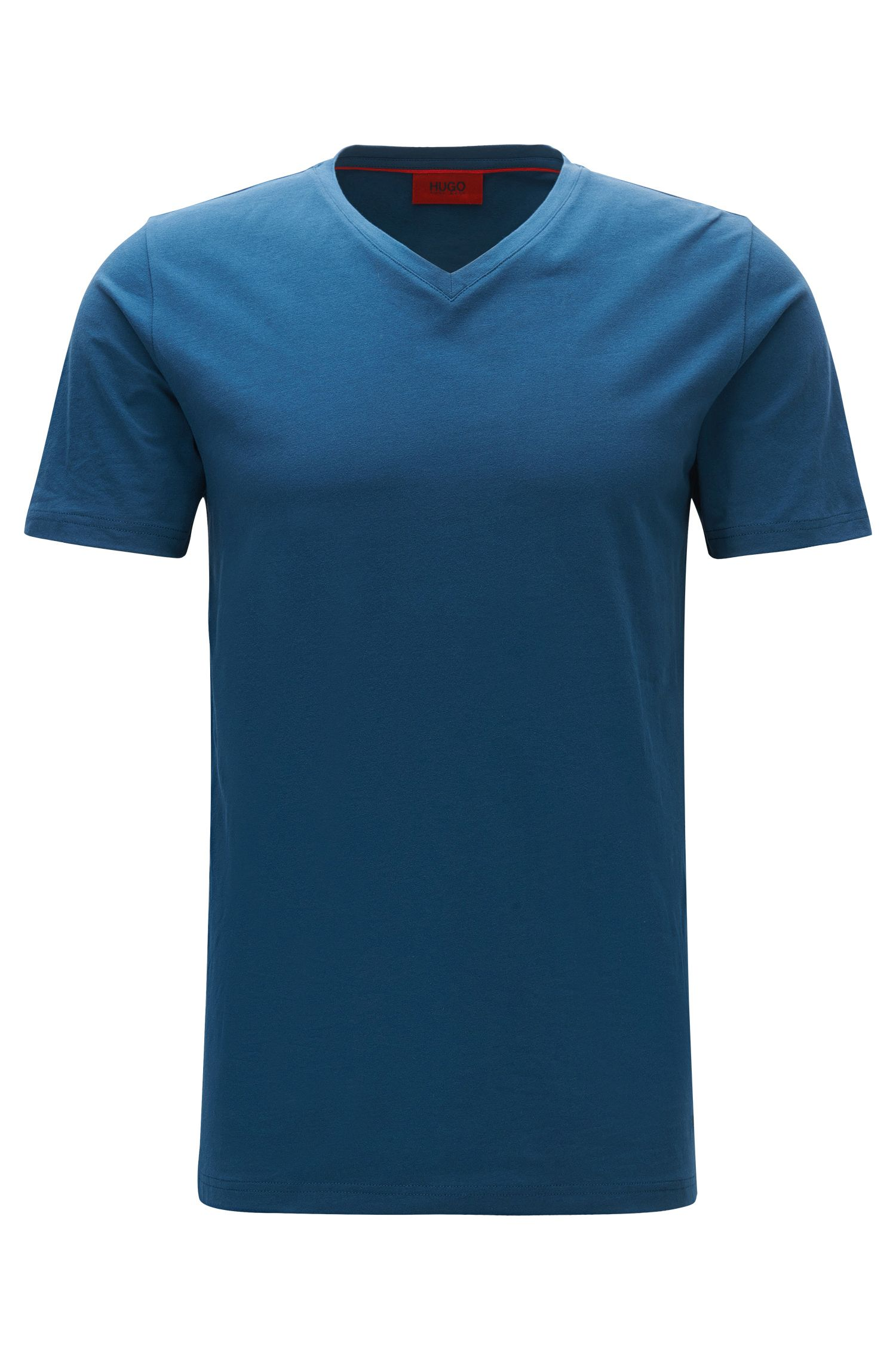 Stretch Cotton Jersey T-Shirt | Dandre