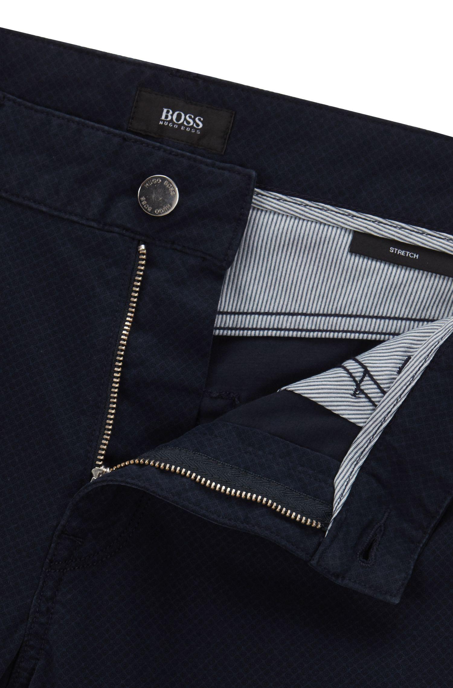 8 oz Stretch Cotton Jeans, Regular Fit | Maine, Dark Blue