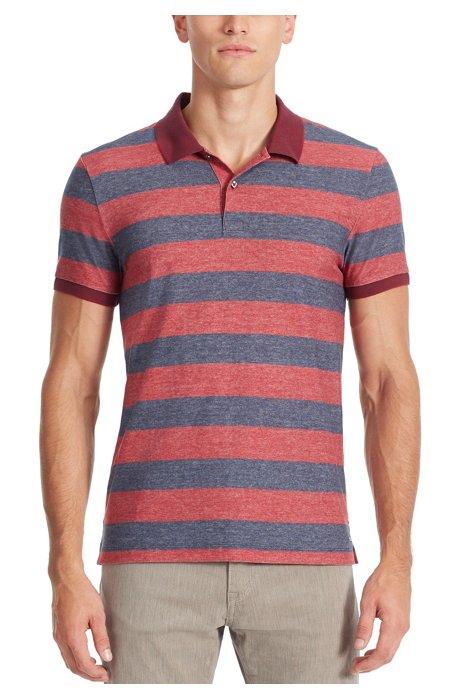 a94582dc6 BOSS - Cotton Polo Shirt, Slim Fit   Phillipson