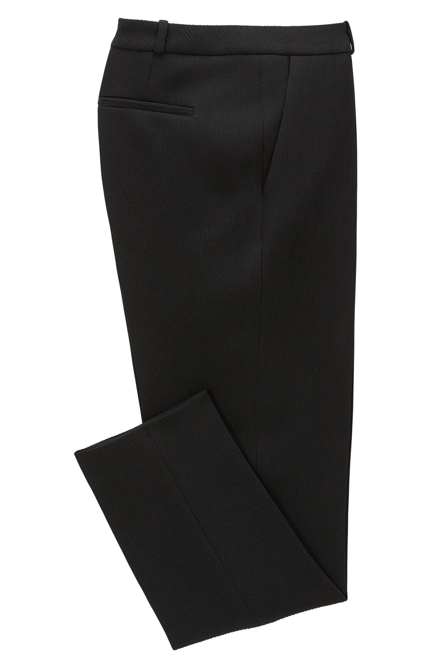 Crepe Cropped Suiting Pant | Tanitea