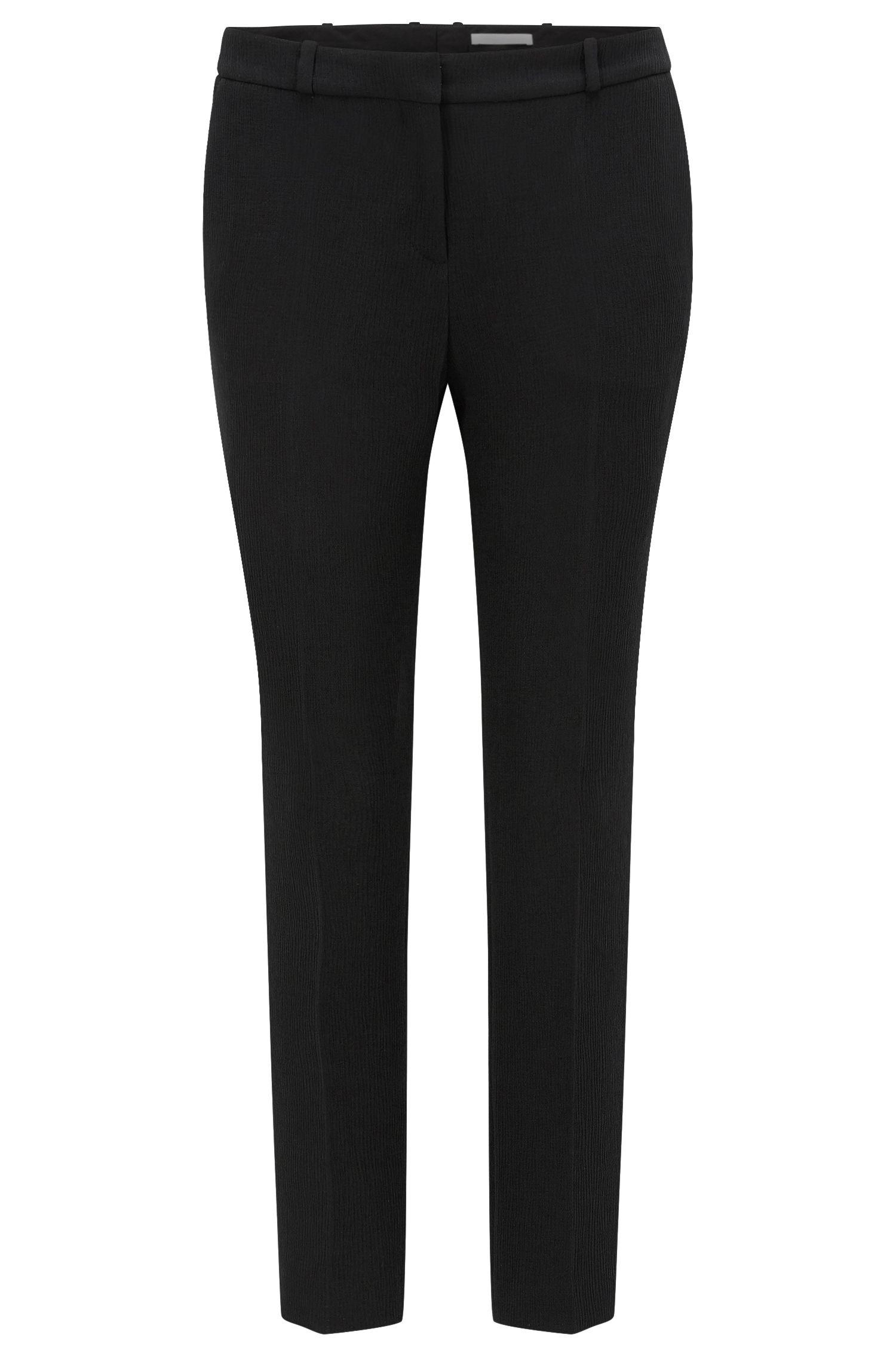 'Tanitea' | Crepe Cropped Suiting Pants