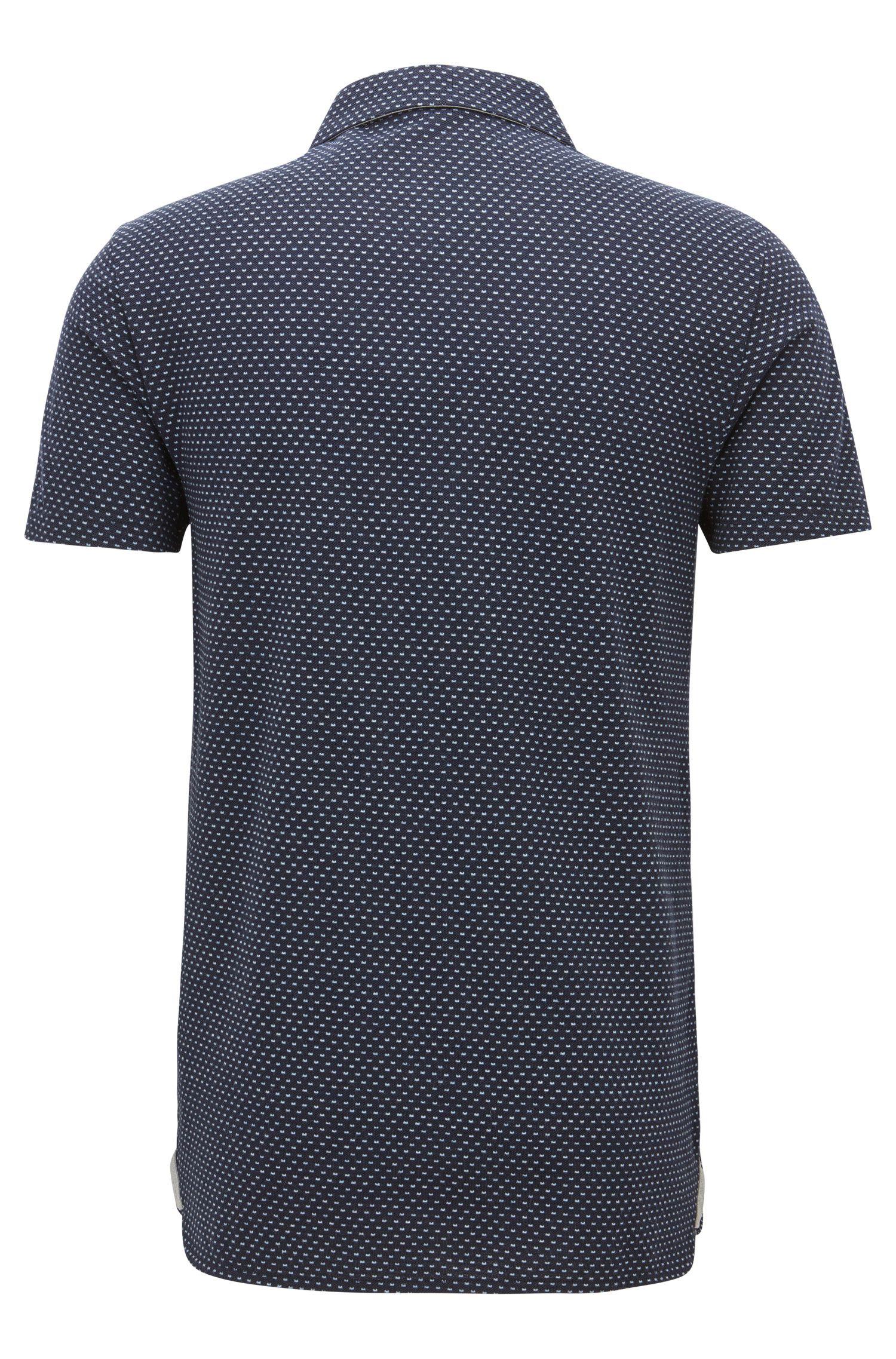 Polka Dot Piqué Cotton Polo Shirt, Regular Fit | Perfect