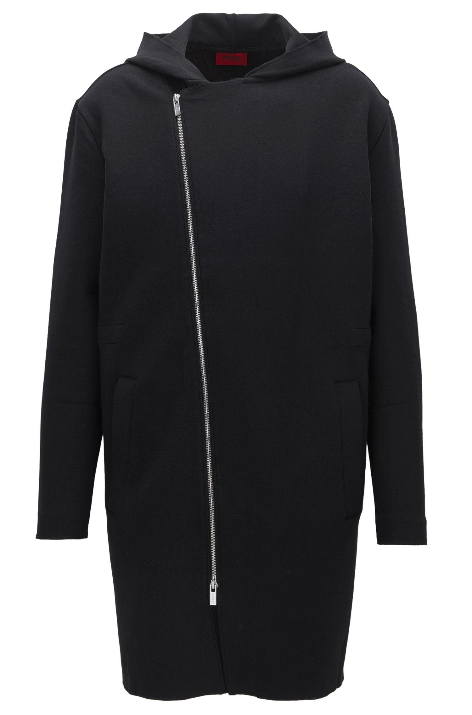 Jersey Hooded Coat | Dornes
