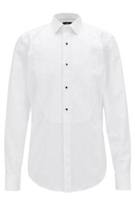 Easy-Iron Tuxedo Shirt | Jant, White