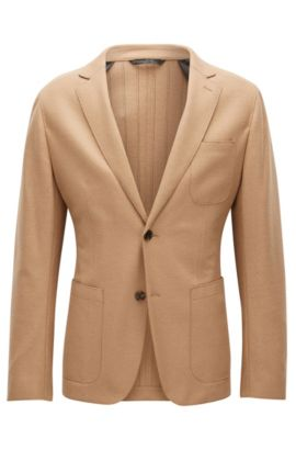 'Nordin' | Virgin Wool Sport Coat, Beige