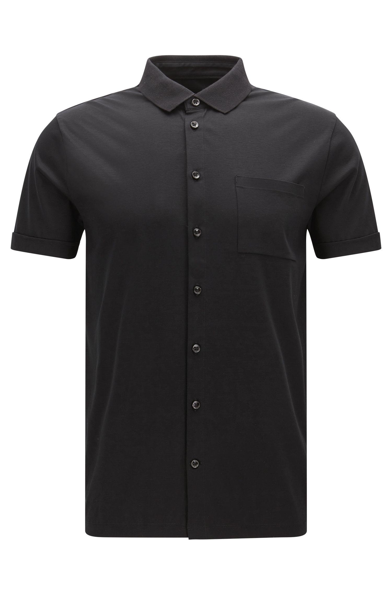 'Puno' | Slim Fit, Cotton Polo Shirt