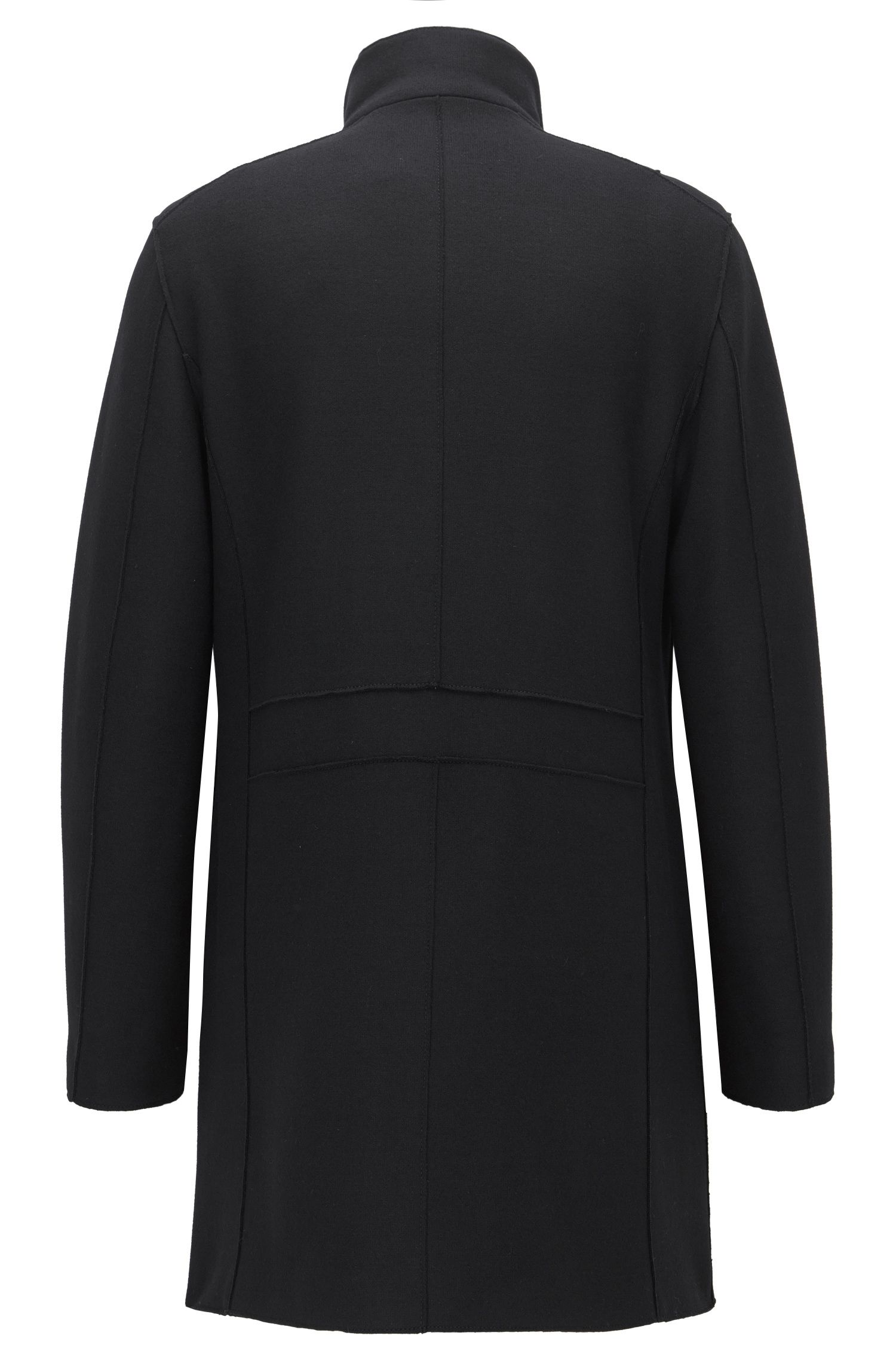 Virgin Wool Cashmere Blend Coat   Minlo