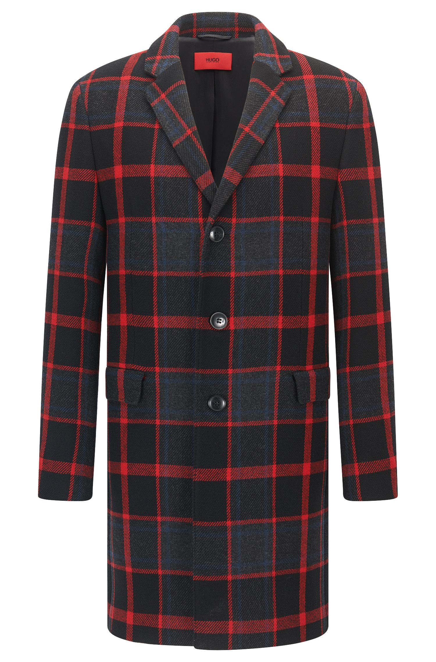 Plaid Coat | Miigor