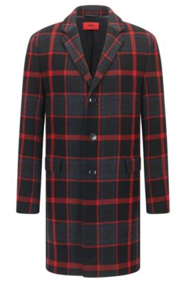 Plaid Coat | Miigor, Patterned