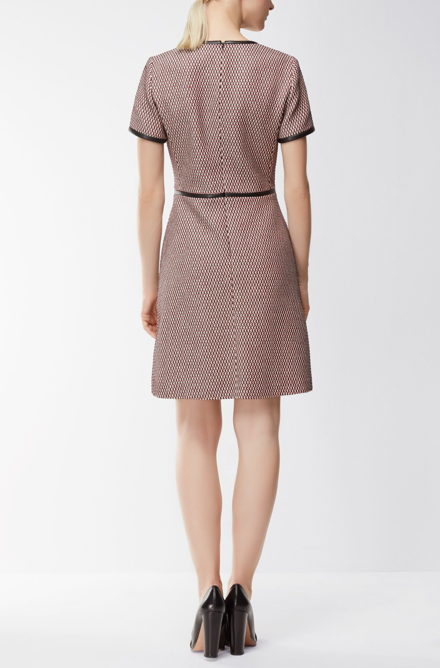 Dobby-Knit Cotton Blend Dress | Dagardi