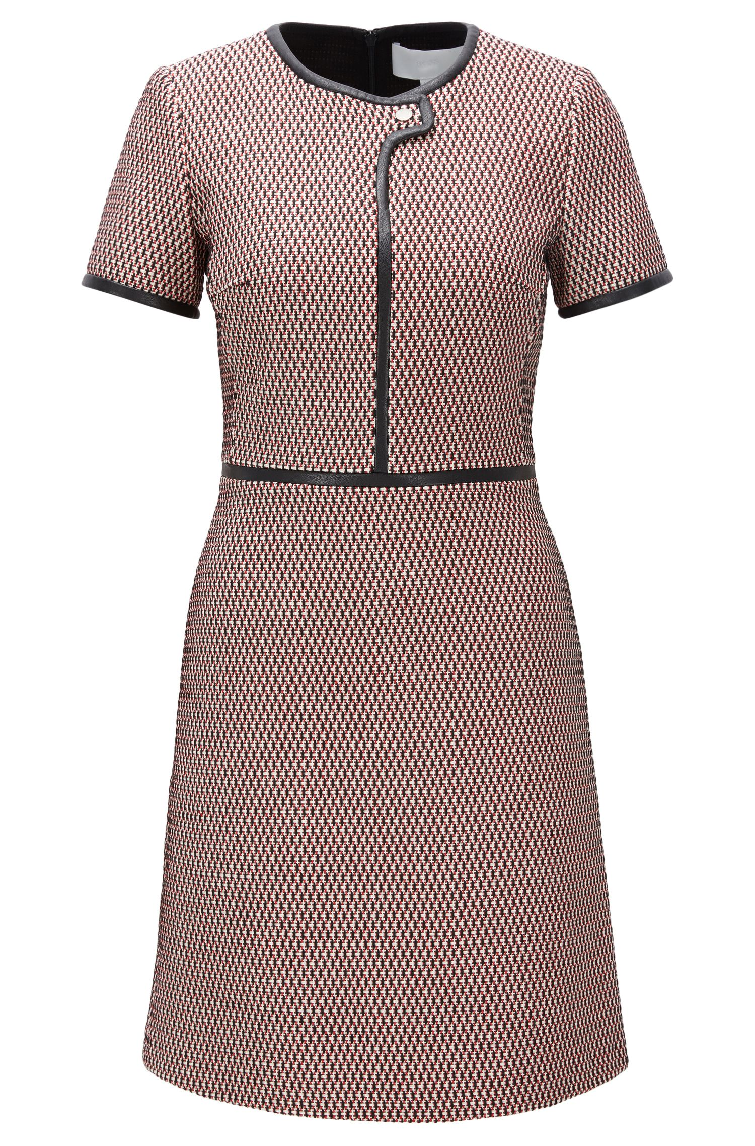 Dobby-Knit Cotton Blend Dress | Dagardi
