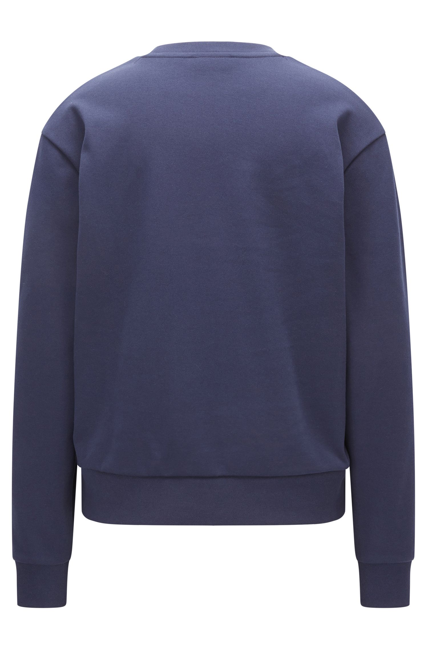 Cotton Logo Sweatershirt | Niccita, Open Blue