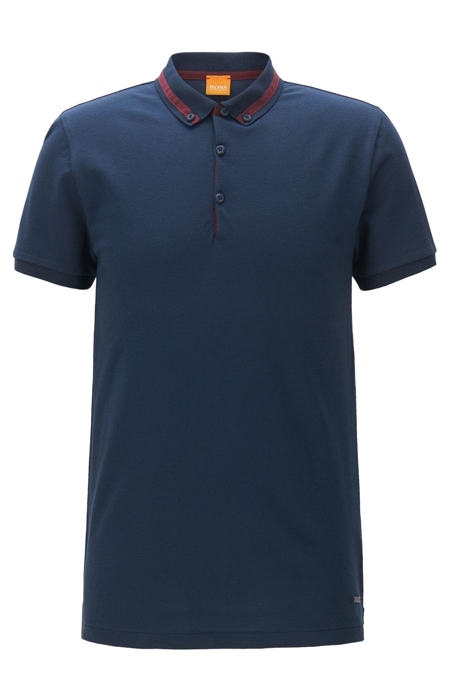 Cotton Piqué Polo Shirt, Regular Fit | Pejo