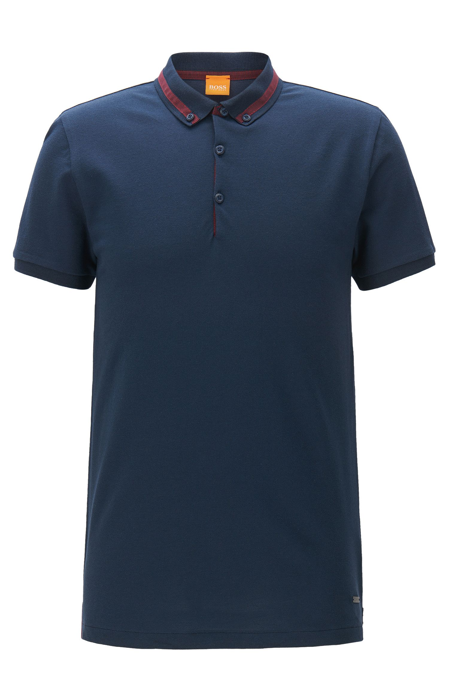 Cotton Piqué Polo Shirt, Regular Fit | Pejo