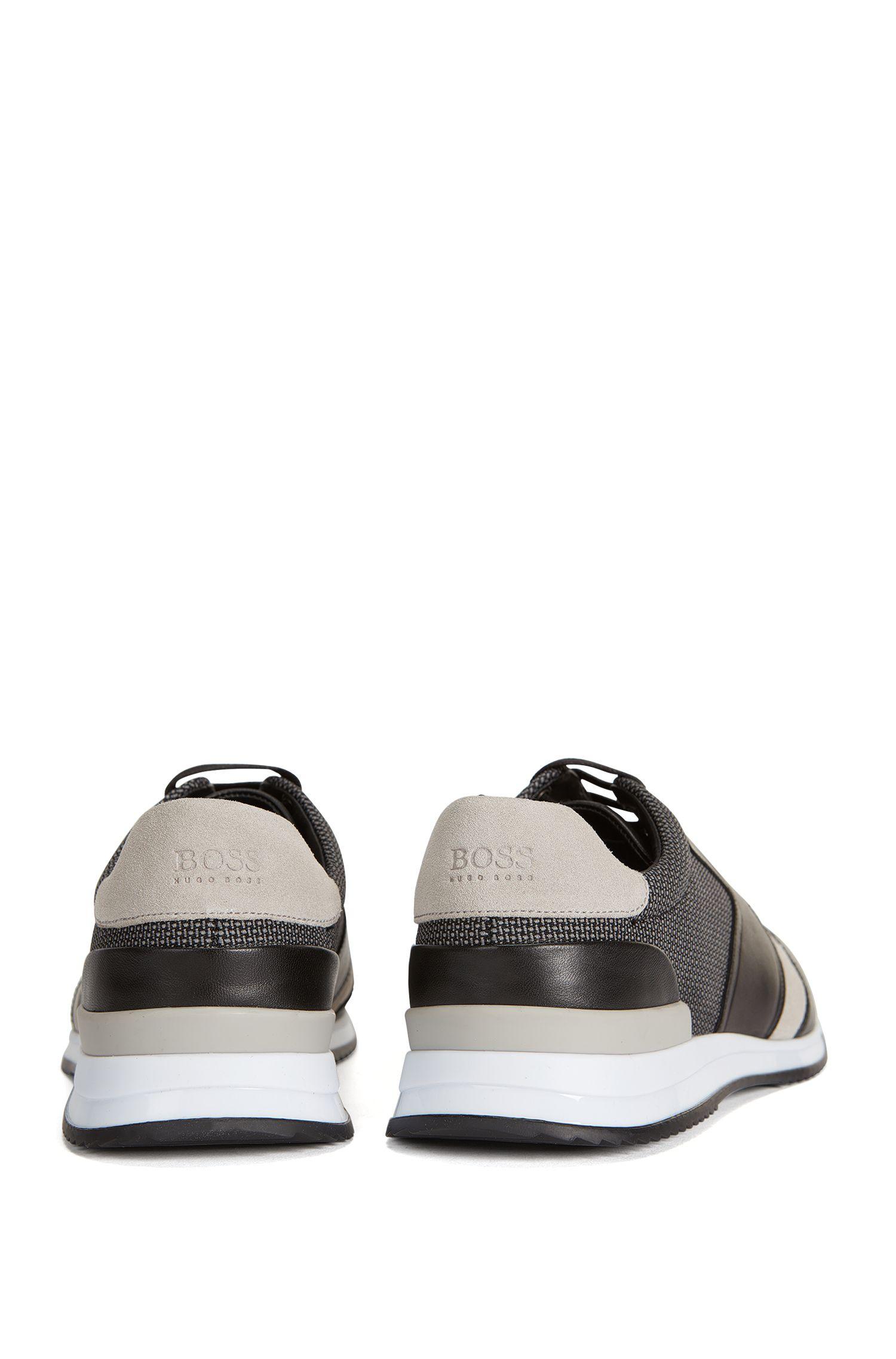 Mesh, Leather Sneaker | Legacy Runn Mx