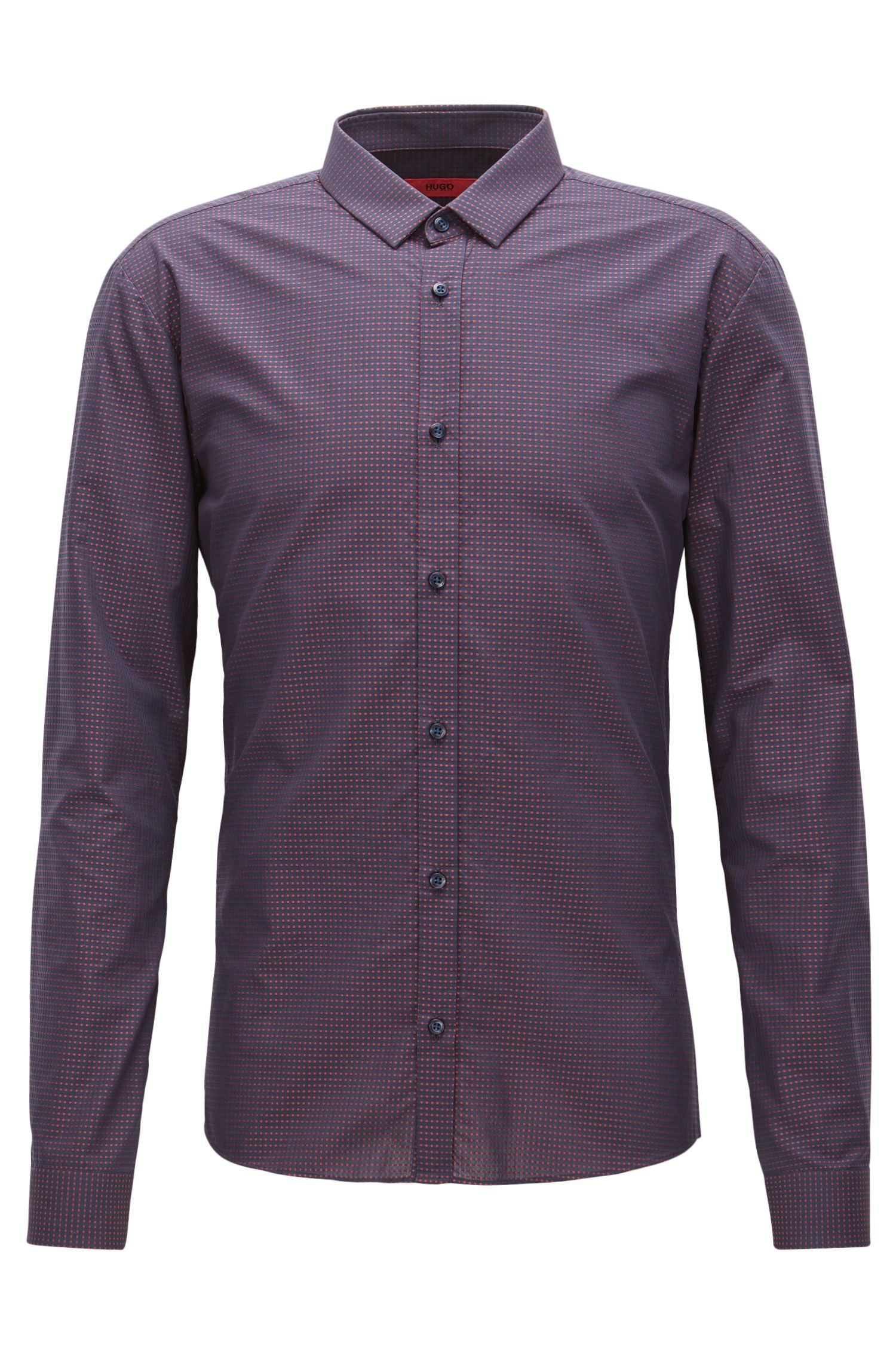 Fil Coupe Cotton Button Down Shirt, Extra Slim Fit | Ero