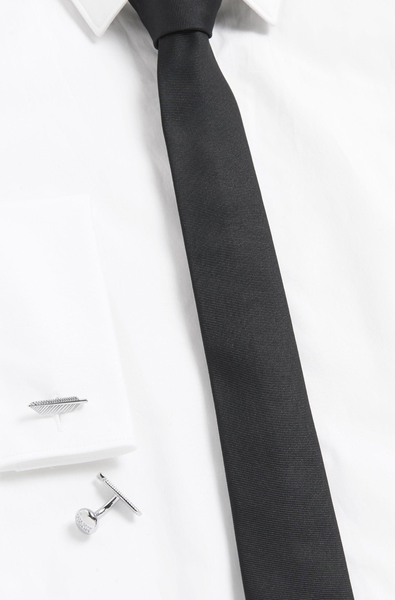 Feather Brass Cufflinks | E Feather, Silver