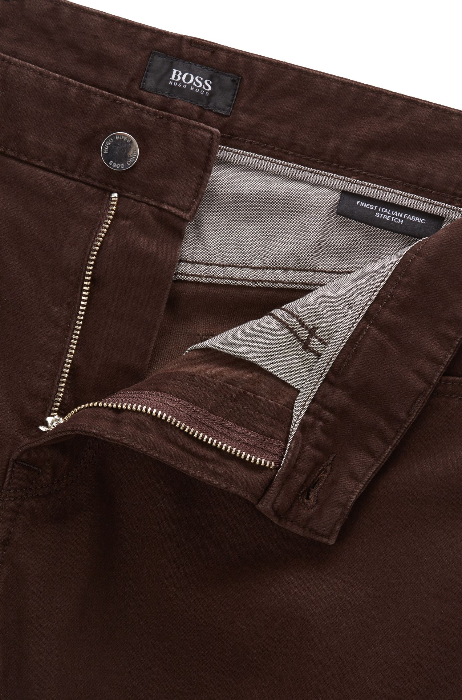 Italian Stretch Cotton Jean, Regular Fit | Maine