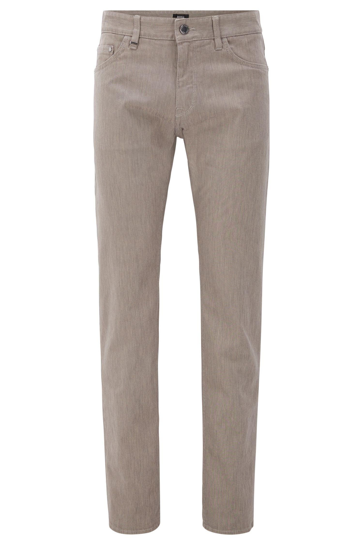 Italian Stretch Cotton Jean, Regular Fit | Maine