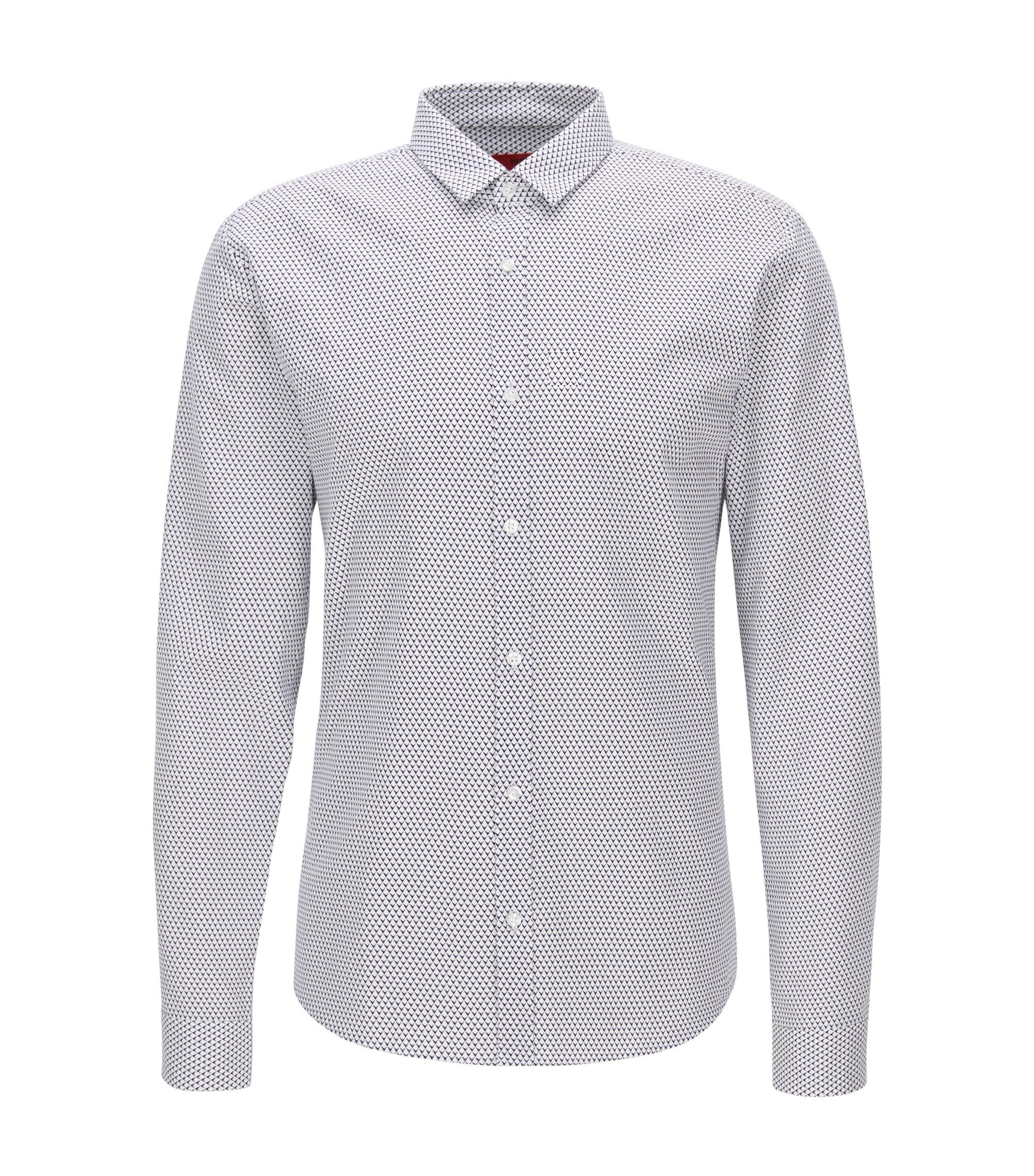 Oxford Cotton Button Down Shirt, Extra Slim Fit | Ero, Open White