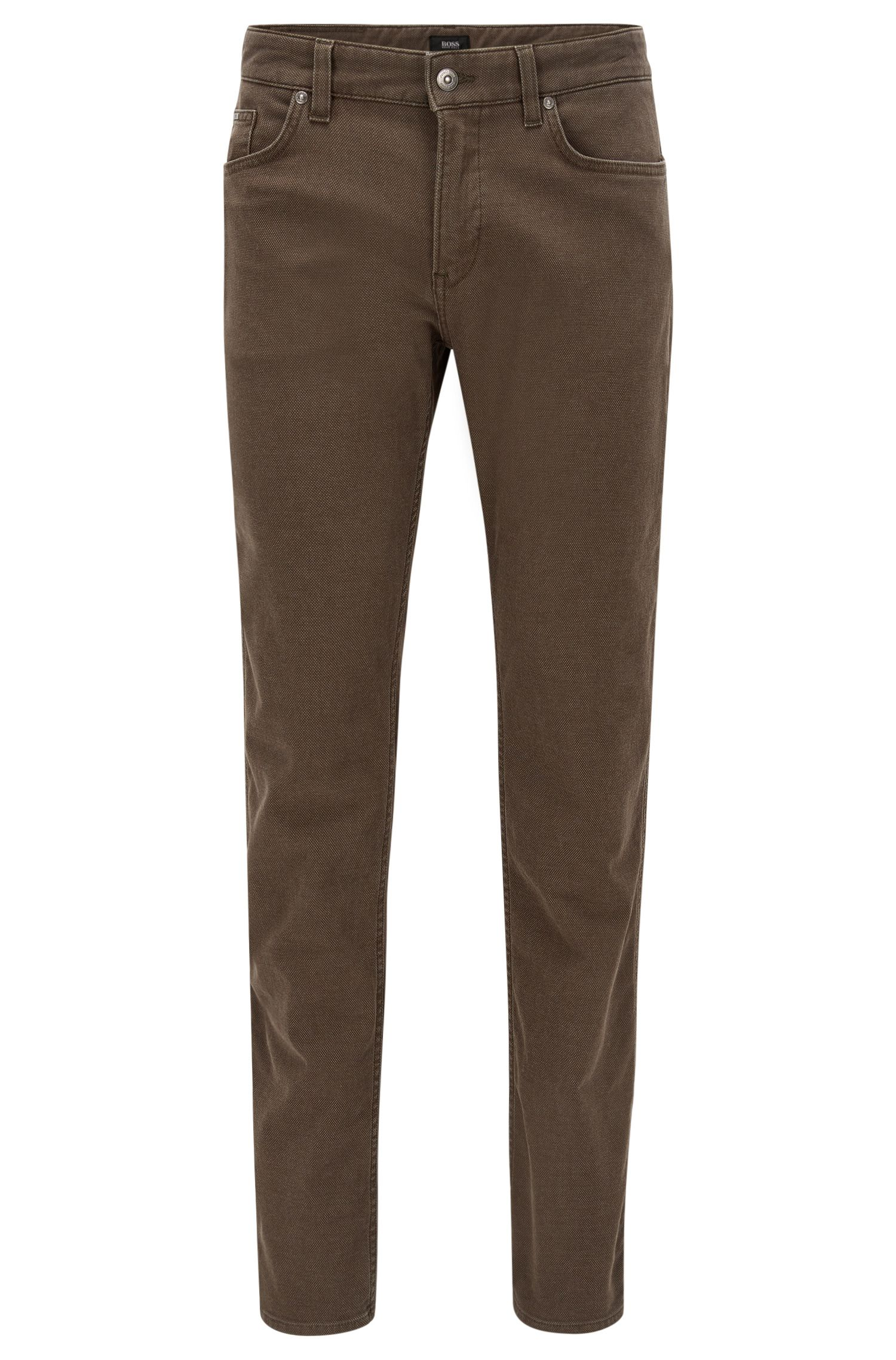 Stretch Cotton Jeans, Slim Fit | Delaware
