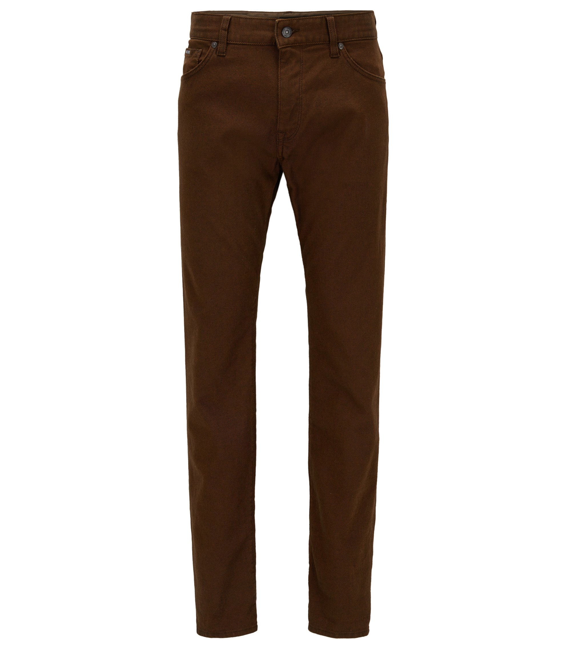 Stretch Cotton Jean, Regular Fit | Maine, Brown
