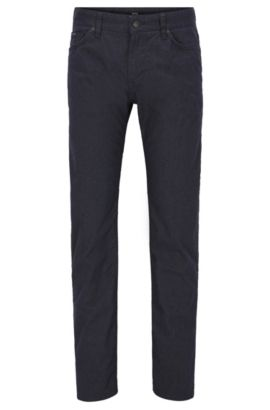 Stretch Cotton Jeans, Regular Fit | Maine, Dark Blue