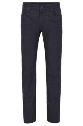 Stretch Cotton Jeans, Regular Fit | Maine, Dark Blue