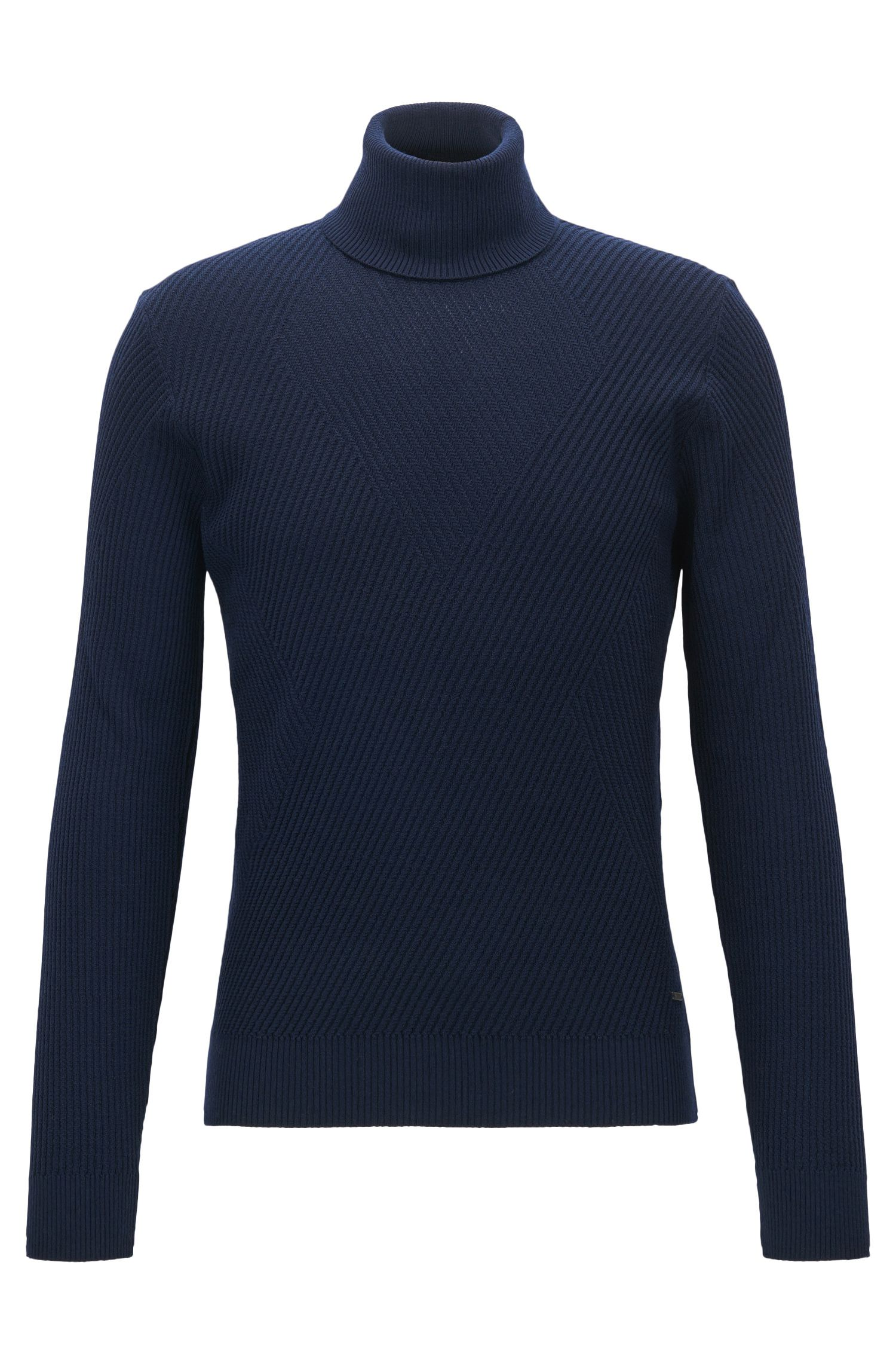 'Nazzaro' | Ribbed Virgin Wool Sweater