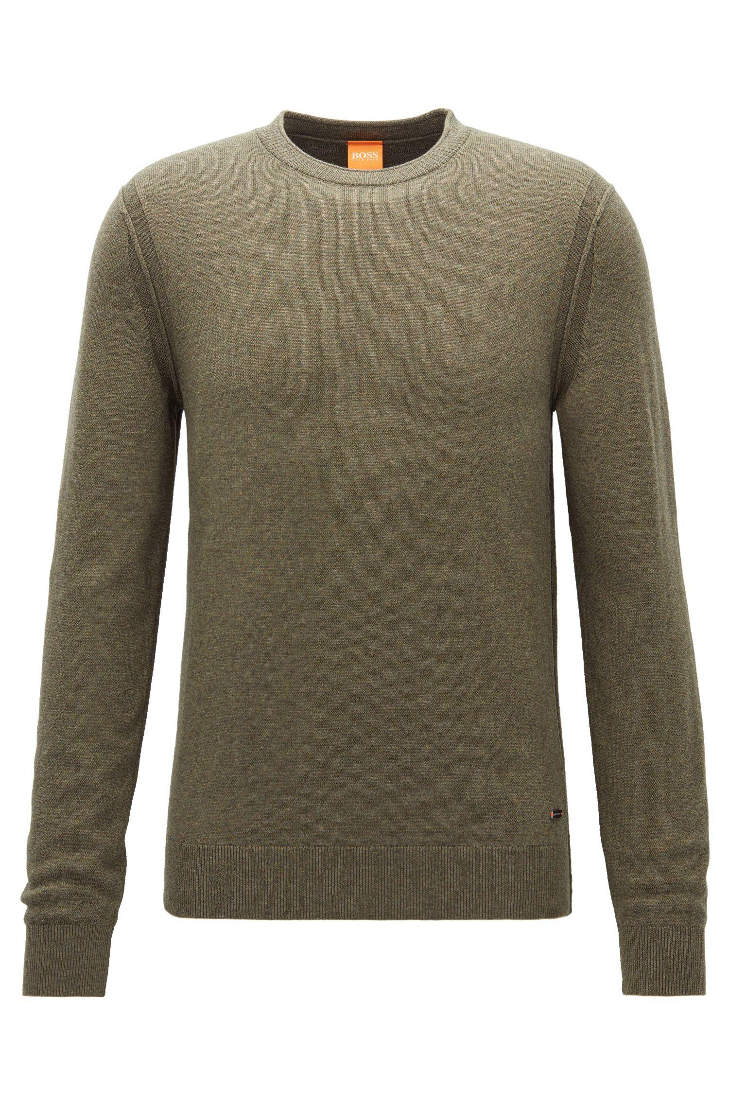 'Albonon' | Cotton-Virgin Wool Blend Sweater