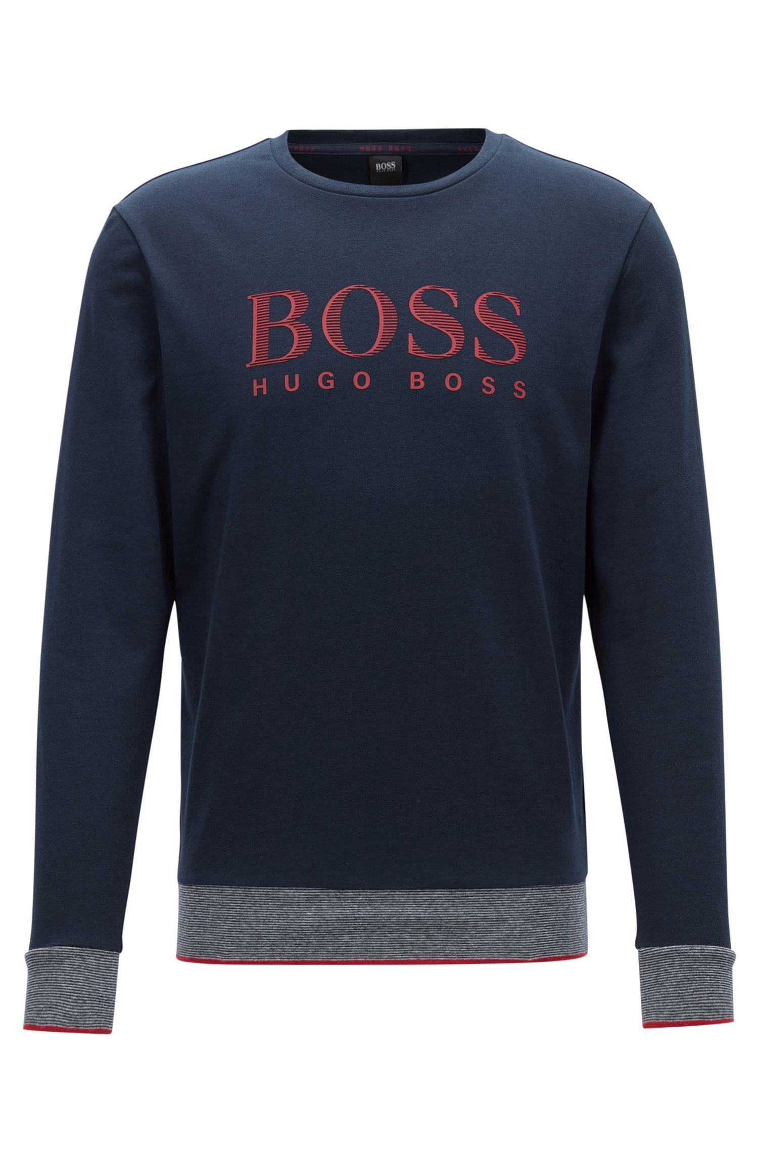 'Sweatshirt RN' | Cotton Logo Sweatshirt