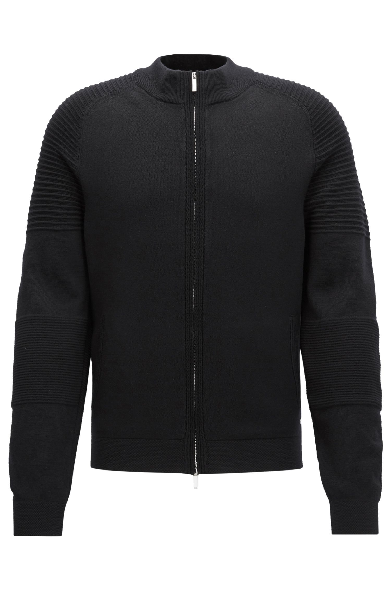 Mercedes-Benz Virgin Wool Full-Zip Jacket | Nadori